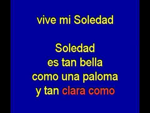 Soledad  -  Emilio Jose -  karaoke   Tony Ginzo