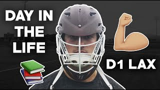 Day In The Life | D1 College Lacrosse