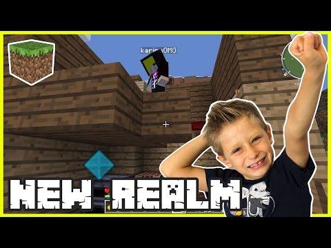 Getting my Minecraft Realm Ready