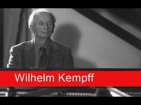 Wilhelm Kempff:  Mozart - Piano Concerto No. 23 In A Major, 'Adagio' K. 488