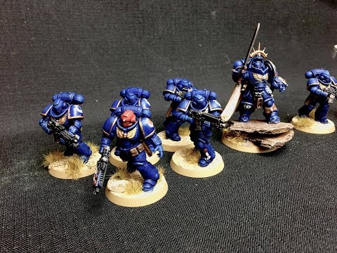 How To Paint Primaris Space Marines Quick & Easy (The Lukes APS way)