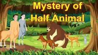 The Mystery Of Half Animal   English Cartoon   Horror Stories   Maha Cartoon TV English