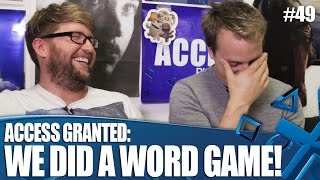 Access Granted: We did a word game!