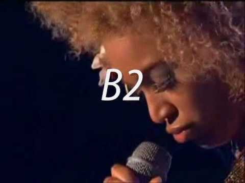 BEYONCE'S VOCAL RANGE: B2-C6; 3 octaves and 1 note