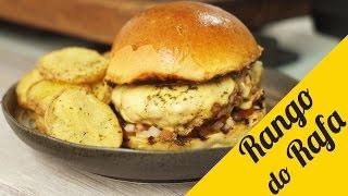 Burger Churrasquinho do Sanduba Insano! -  Rango do Rafa thumbnail