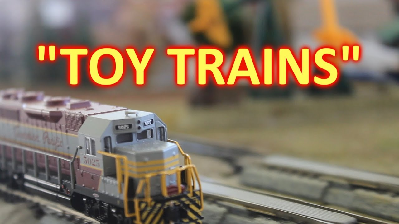 Toy Train Set AWESOME CHOO CHOO TRAINS in Action City and Tracks