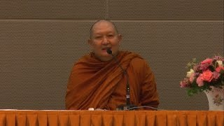 หลวงพ่อปราโมทย์ แสดงธรรม ณ ศูนย์ปฏิบัติการการบินไทย สนามบินสุวรรณภูมิ