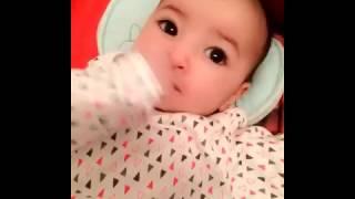 Viral Cute Baby girl Dhuhaa Sophea 3