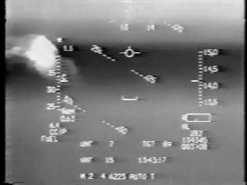 F-16 dodging 6 Iraqi SAM launches on Jan 19 1991