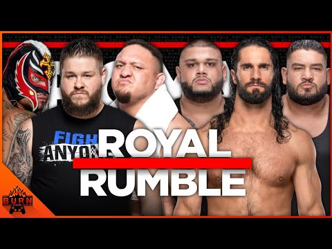 WWE 2K20 SETH ROLLINS & AOP VS KEVIN OWENS, SAMOA JOE & REY MYSTERIO
