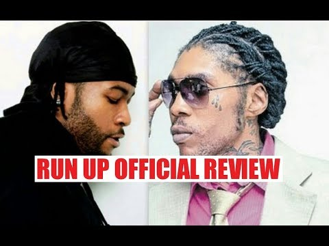 Vybz Kartel  - Run Up Remix Official Review (line by line)