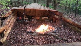 2 NIGHTS WILD CAMPING WITH MY NEW DOG TYSON