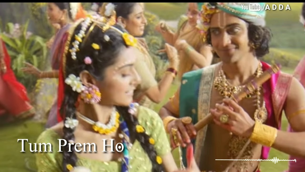radha krishna title song lyrics mp3