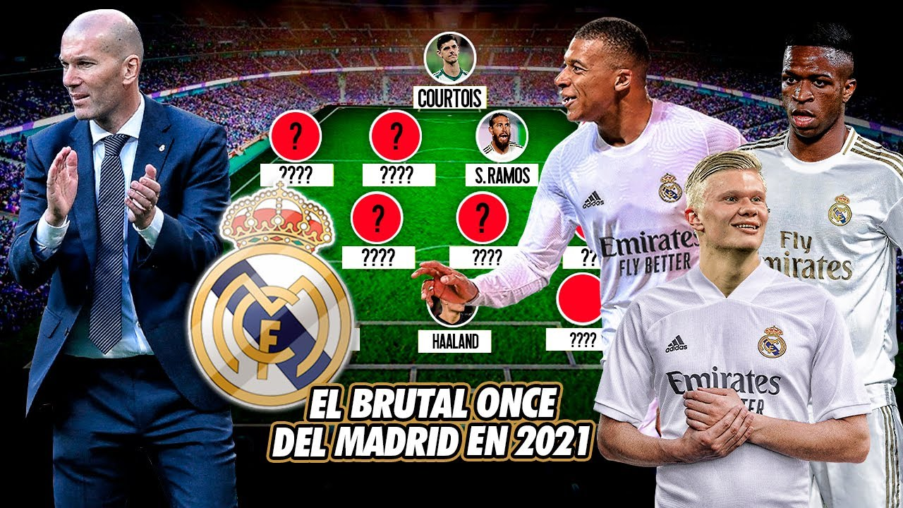 Download EL BRUTAL ONCE de TERROR que tendrá el Real Madrid en el 2021 ¡Por eso NO FICHARÁN ESTE MERCADO!