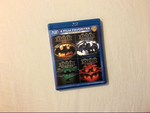Batman: Complete Collection (1989-1997) - Blu Ray Review and Unboxing