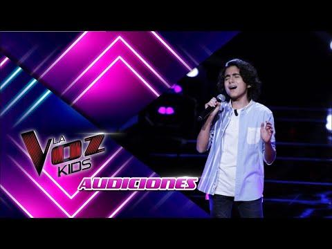 Alex-Chandelier/Audiciones La Voz Kids 2021