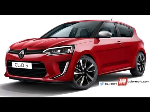 futur renault clio 5 2018 ou 2019 youtube. Black Bedroom Furniture Sets. Home Design Ideas