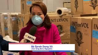 PHÓNG SỰ CỘNG ĐỒNG: Vợ chồng gốc Việt ở Massachusetts tặng 1 kho thiết bị y tế cho các bệnh viện