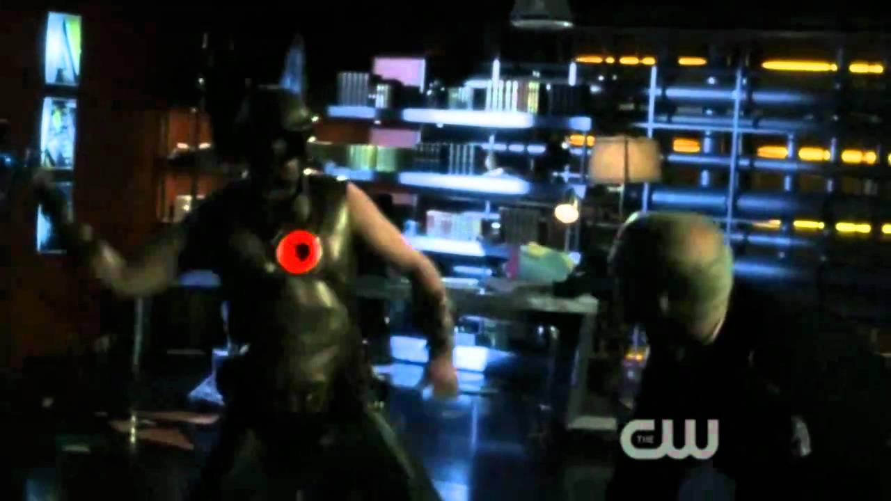 Slade Wilson Deathstroke Smallville Hawkman vs Slade - Smallville