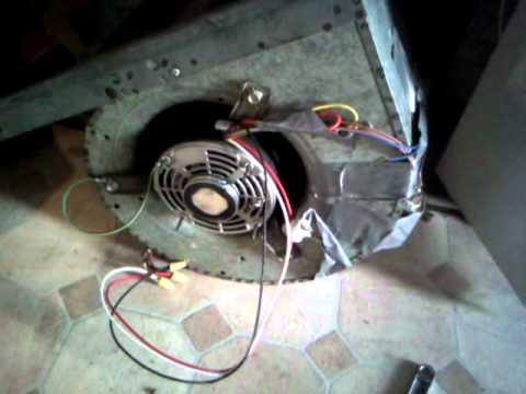 Forced air furnace blower motor repair incorrect 1 nj for Furnace blower motor troubleshooting