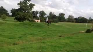 Alice Goring and The Little Frenchman at BCA Horse Trials