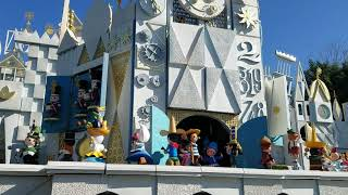 Giant Mechanical Cuckoo Clock at Disneyland's Small World