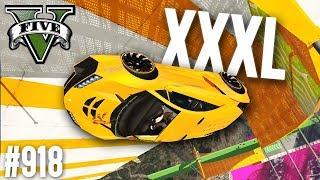 XXXL Stunt Parcour - DADDY ist wieder da! (+Download) | GTA 5 - Custom Map Rennen