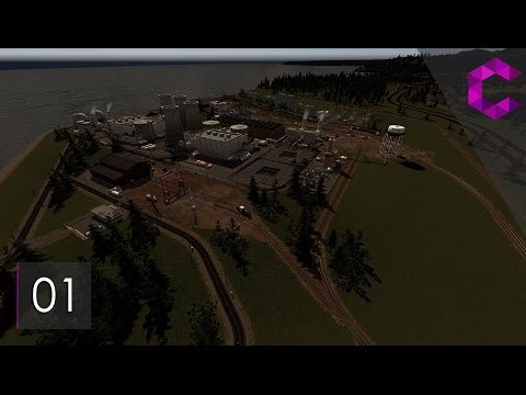 Cities Skylines: Pinewood — Ep 1 — Nuclear Power Station