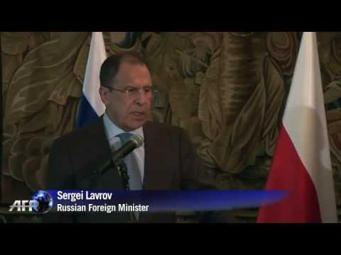 Russia : Russia's Sergey Lavrov defends supply of advanced anti-air missiles to Syria (May 10, 2013)