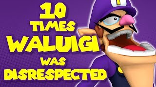 10 Times WALUIGI was DISRESPECTED