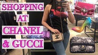Luxury Shopping in Minneapolis - Tons of Chanel & Gucci Eye Candy!