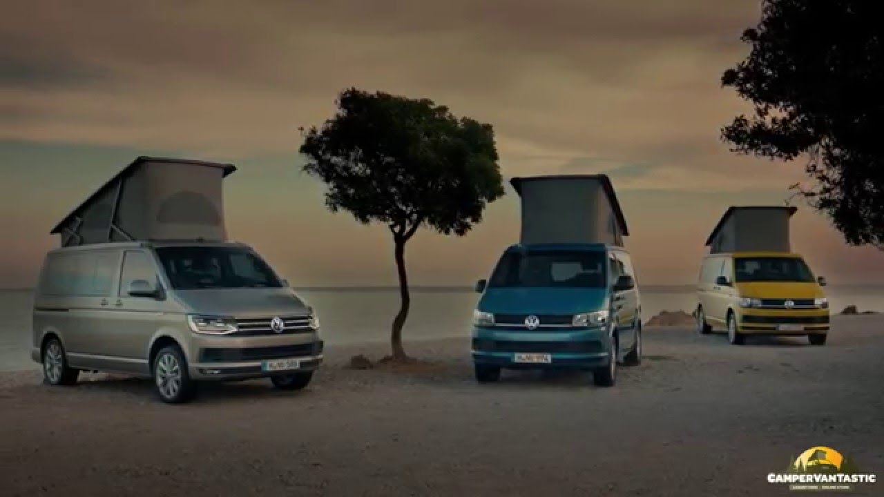 volkswagen t6 vw california campervan campervantastic youtube. Black Bedroom Furniture Sets. Home Design Ideas