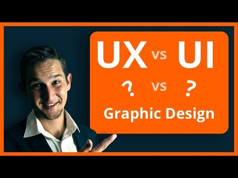 UX vs UI vs Graphic Design - What's the difference?