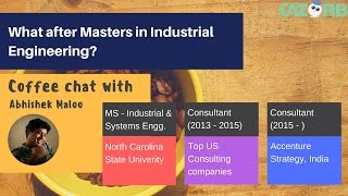 What after Masters in Industrial Engineering thumbnail