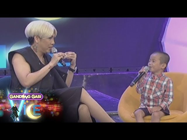 GGV: Vice Ganda will support Carlo's education