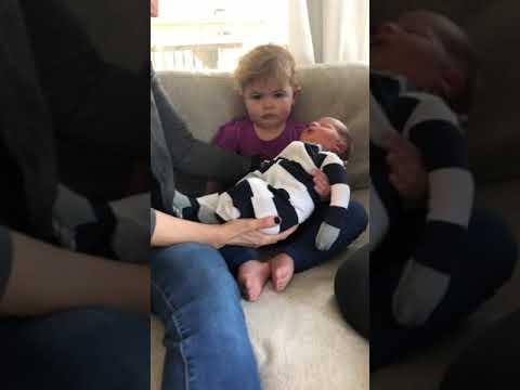 Joey Brooks - Toddler Is Totally Unimpressed by New Baby Brother
