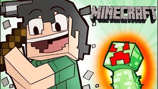 AFTER SIX YEARS I PLAY MINECRAFT ONCE AGAIN!! - Minecraft Funny Moments ft Girlfriend