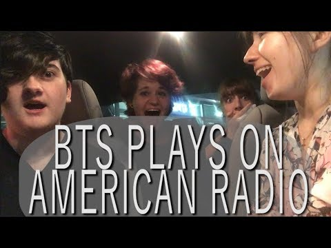 BTS PLAYS ON COLUMBUS OHIO RADIO