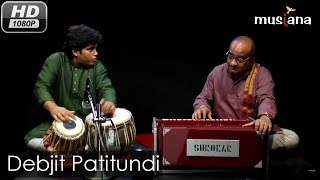 Musiana Rising Star | Tabla Teen taal: Peshkar, Qaaida, Rela, Tukra, Gat | Debjit Patitundi