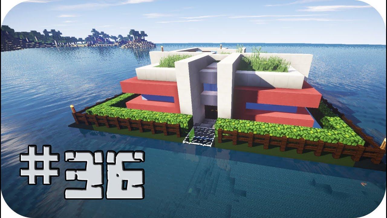 Reah survival la casa sobre el mar minecraft ep 36 - Casas en el mar ...