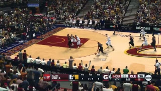 NBA 2K14 (2K18 Mod) - Houston Rockets at Cleveland Cavaliers (TNT Presentation)