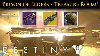 Destiny - Prison of Elders Treasure Room! Guaranteed Exotics!
