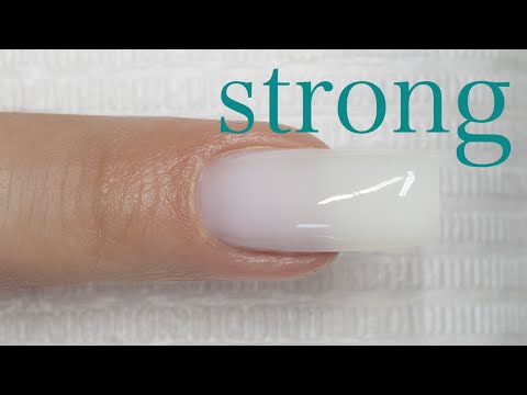UV GEL Strong Soft White - How to apply
