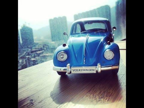 Hasegawa Volkswagen Beetle 1967 Scale Model 1/24 Car