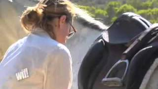 Super Model Tatjana Patitz Shares Her Love Of Andalusians With Equine VIP