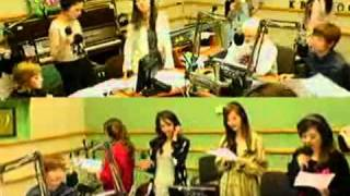 SNSD - Say Yes @ Kiss the Radio Oct21.2011 GIRLS' GENERATION Live