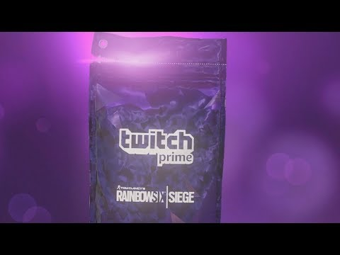 Rainbow Six SIege Twitch Prime Packs Opening The Complete Collection