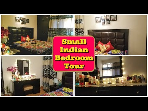 Small Indian Bedroom Decoration Ideas in Hindi | Small Indian Bedroom Tour | Indian Mom Studio