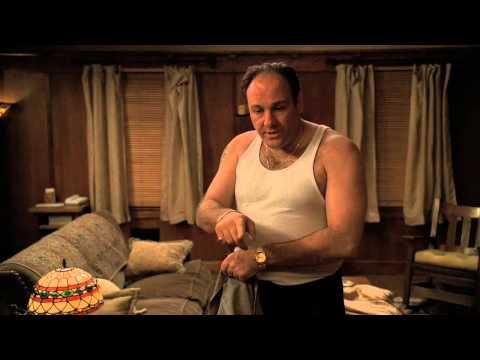 The Sopranos  Gloria Trillo throws roast beef at Tony's head
