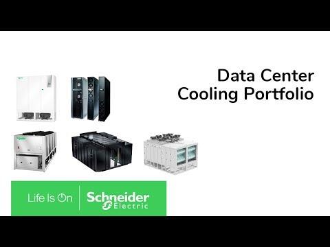 Schneider Electric Data Center Cooling Portfolio Youtube